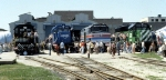 New Southern, Conrail, Amtrak, and BN Units Display at EMD Open House