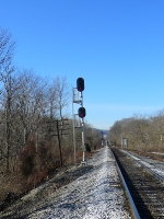South End Of Latonia Main Signal for Southbound Trains