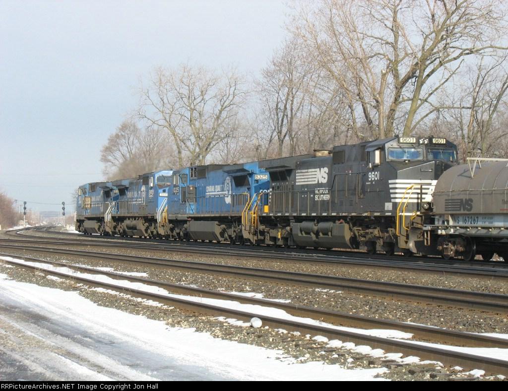 NS 9601, 8325, 8446 & 8398