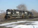 NS 2541 & 8697 with DODX 900 behind them