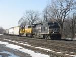 NS 9808 & HLCX 5999 leading 16E