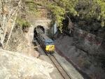 Westbound Portal Train