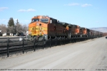 BNSF 5507 (Dash 9) awaits helpers