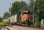 UP train splitting the CPLs