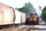 CSX 4734 train meet