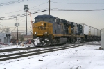 CSX TV train with a pair of GEVOs