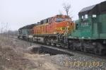 BNSF C44-9W 4997