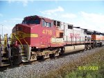 BNSF C44-9W 4718