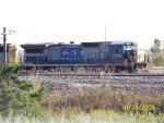 CSX C40-8 7544