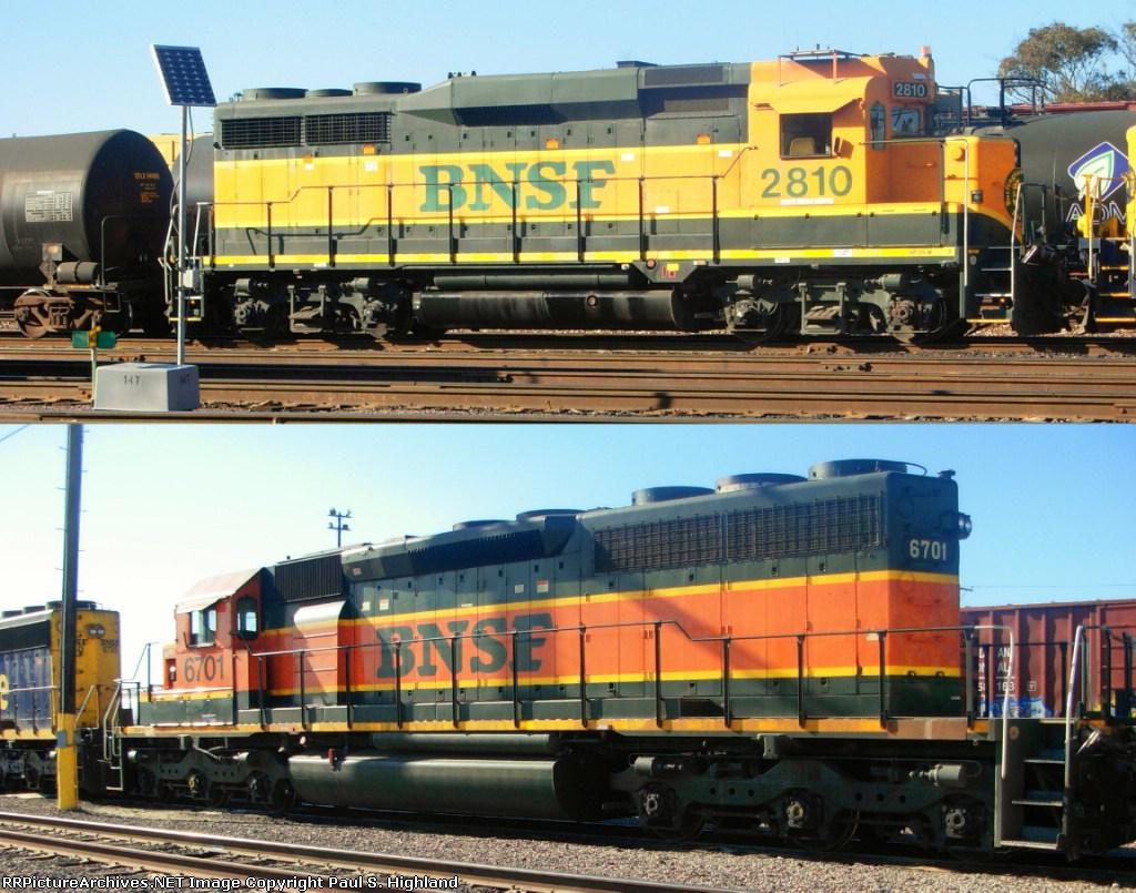 BNSF 2810