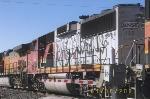 BNSF GP60M 122