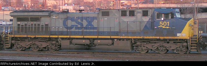 CSX 501 AT NORTH BERGEN