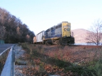 CSX 6073 AT WEST POINT NY