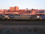 CSX 624 AT NORTH BERGEN