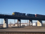 CSX 7370 AT SANTA FE JCT KANSAS CITY MO