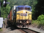 CSX 7847 JUST PULLIN GOUT OF CP25 IN ORANGEBURG NY