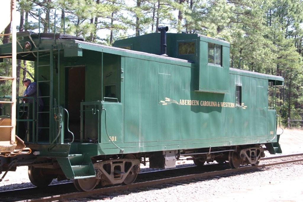 Ex ICG caboose