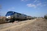 Amtrak 171 leaves Hamlet
