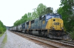 CSX 5466 and 4812