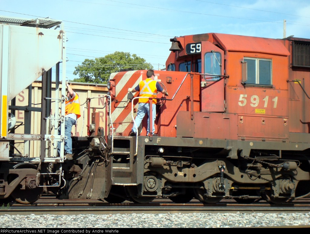 Putting the brakes on CP 5911