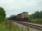 UP 5609 on parked eastbound coal