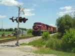CP 8839 leads No. 281 west toward River Rd.