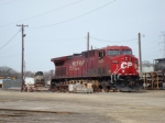 CP 9552 in the yard