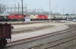 CP 8523 leads three EMDs