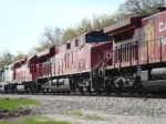 CP 8849, 4523 and a SOO Geep