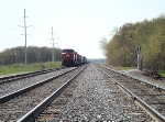 CP 8628 westbound sitting on one of the Portage Junction sidings