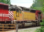 CEFX 2786 was once a UP SD45