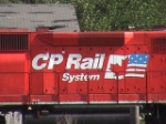 "Closeup of the ""Flag"" scheme on CP 4618"