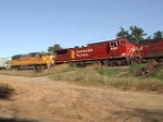 CP 8556 and an ex-UP/CNW SD50