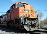 BNSF 9386 up close and personal