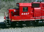 "CP 4407 brings the ""East Patrol"" into town"