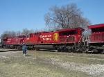 CP 8569 and 8764 round out the lashup on 282