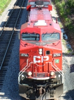 CP 8795 west about to pass under Bobolink Road