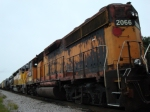 SOO 2066 in Banditized Milwaukee Road colors