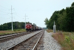 CP 8535 west parked in Portage East per usual