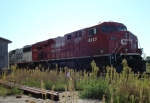 CP 8833 sitting in the siding