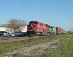 CP 8853 & CITX 3061 power Train 185 west