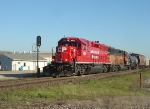 CP 4522 & SOO 2057 shove clear of the interlocking signal