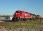 CP 4522 and its Bandit parter throttling up to head west