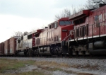 CP 8557 and a Soo Line SD60 trail