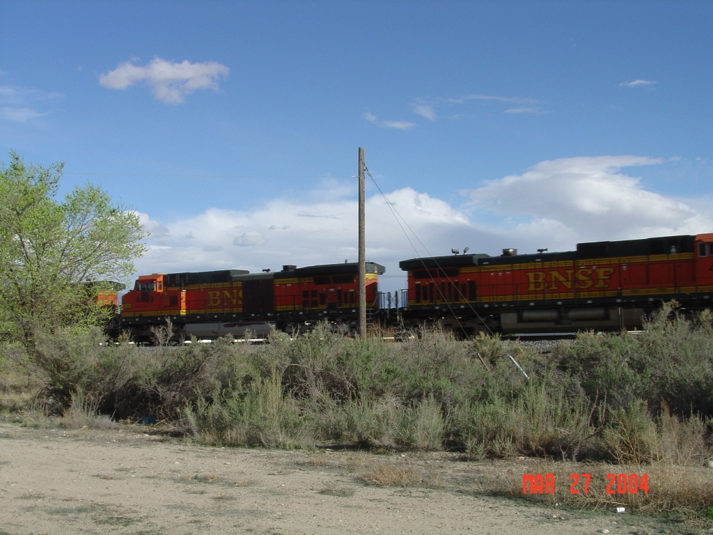 BNSF Freight on UP