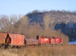 07031725 CP eastbound freight at MP 329.20