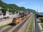 070721002 Westbound BNSF freight