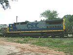 CSX 7593 switching train Q211-31