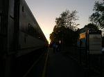 Looking Toward's The Locomotive