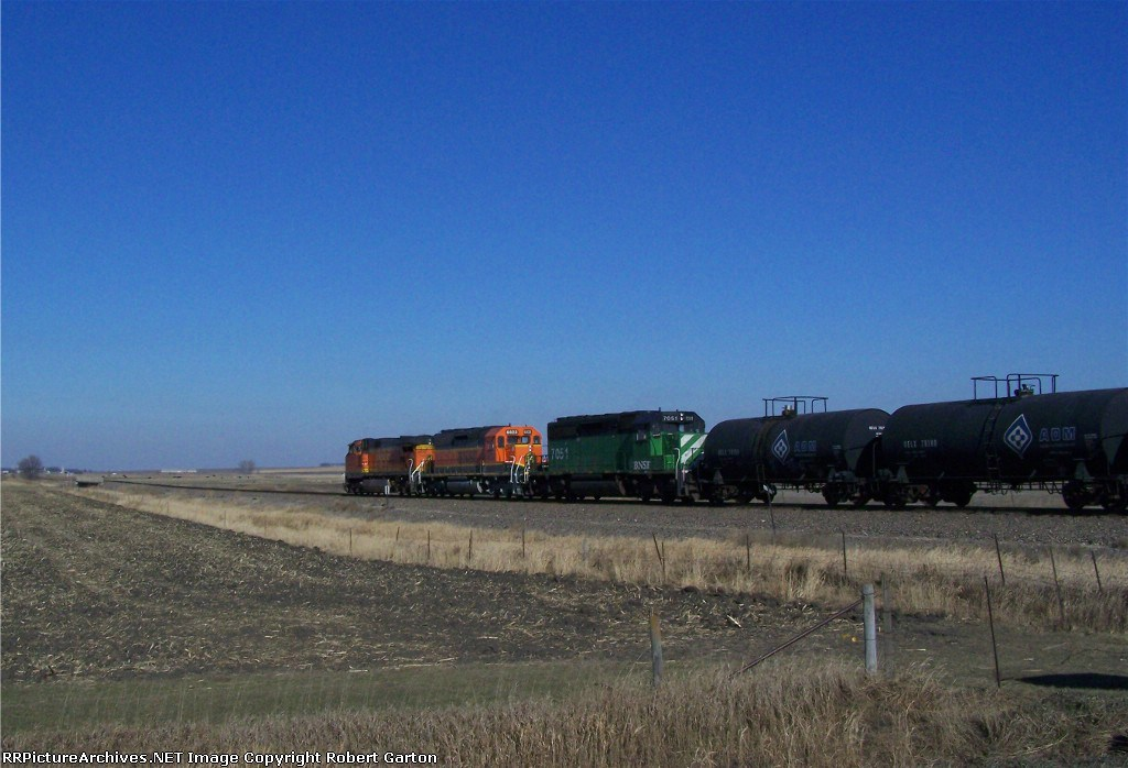 Over the Bridges and Through the Fields, to Garretson, South Dakota she Goes!